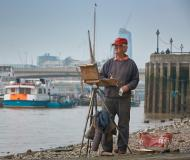 Painting on the Thames