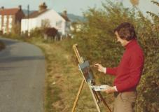 Painting in Kent - 1978