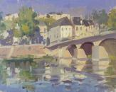 Bridge at Chinon, Loire Valley