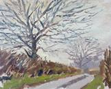 Winter Trees, Rhodes Minnis, Kent.